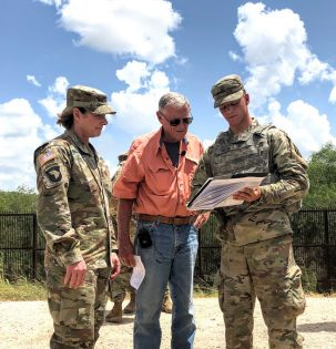 Inhofe visits the U.S.- Mexico border