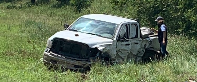 No serious injuries reported following accident