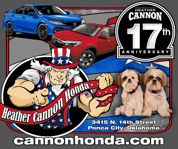 Heather Cannon Honda - Celebrate our 17th Anniversary with us