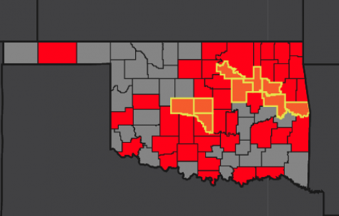 OSDH reports 24 confirmed cases of COVID-19 in Kay County